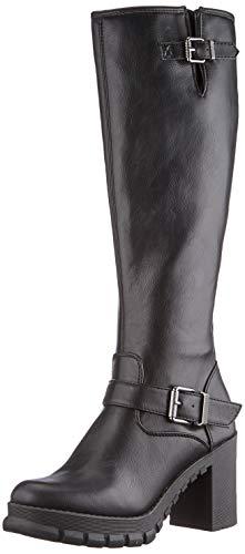 Buffalo Damen MARNY Mode-Stiefel, Black, 40 EU