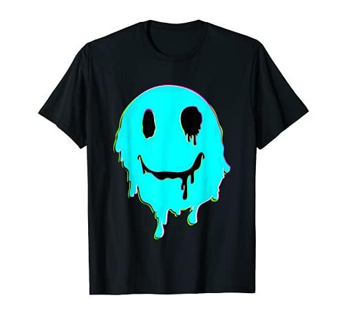 Melting Smiley Face T-Shirt