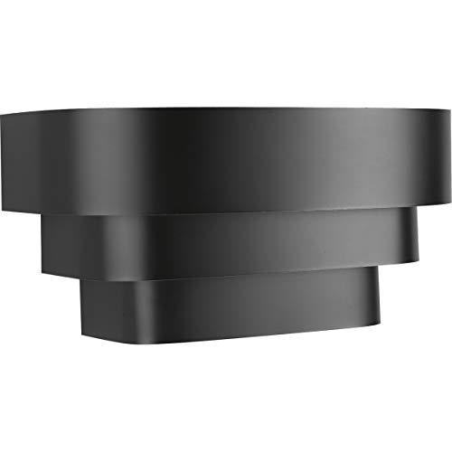 Progress Lighting P7103-31 Tri-Band Wall Sconce, Black