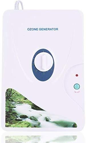 Yangers Generador de ozono Multifuncional Purificador de Agua y Aire Esterilizador Limpiador de Agua para Beber Frutas Alimentos Verduras Temporizador de Lavado de Ropa (600mg/h)