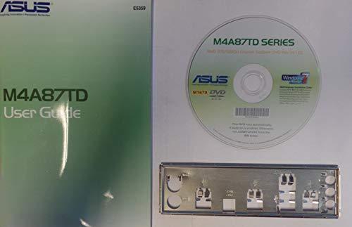 ASUS M4A87TD Handbuch - Blende - Treiber CD