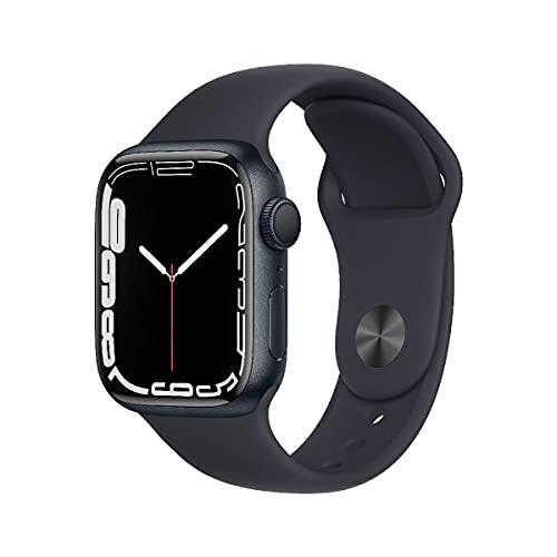 AppleWatch Series7 (GPS, 41mm) - Aluminiumgehäuse Mitternacht