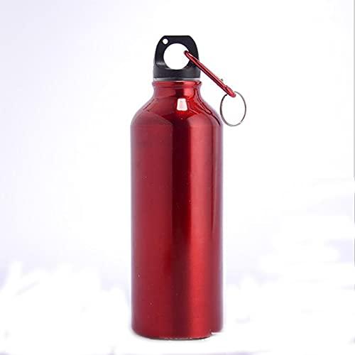 FAMOUHOME Botella Termica, 500ML Botella De Agua De Acero Inoxidable, Botellas De Frío/Caliente Sin BPA & Eco Friendly?Dos Botellas ? (Rojo)