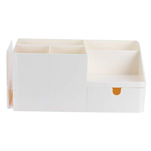 Lantuqib Caja de Control Remoto, Buena Textura Organizador de Escritorio Material PP Soporte para Libros Caja de Almacenamiento de papelería Suministros para el hogar para la Tienda Libros para