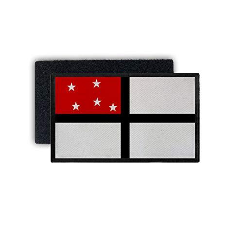 Copytec DOAG Petersflagge Ostafrikanischen Gesellschaft Ostafrika 7,5x4,5cm Patch #32648