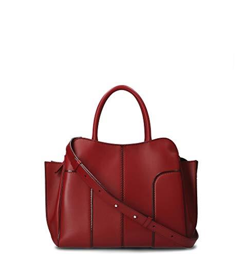 Tod's Luxury Fashion Damen XBWANDA9200PUPR018 Rot Leder Handtaschen | Herbst Winter 19