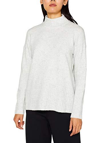 ESPRIT Damen 099EE1I030 Pullover, Grau (Ice 5 059), Medium (Herstellergröße: M)