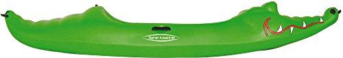 Tahe Marine Croco kayak Kajak SOT PE Kinderkajak Sit On Top Freizeitkajak, Farbe:Grün