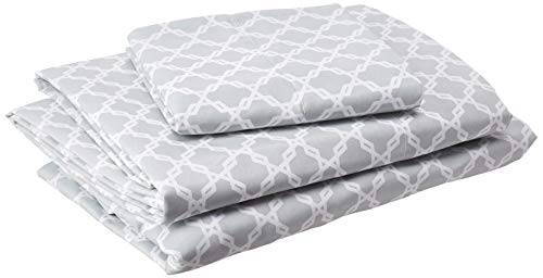Comfort Spaces Coolmax Moisture Wicking Bed Cooling Sheets for Night Sweats, Twin, Charcoal