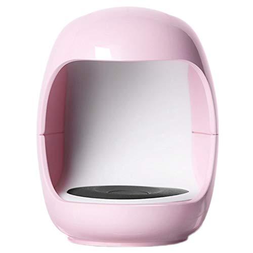 Andifany Forma de Huevo 3W LáMpara LED UV para U?As LáMpara de un Solo Dedo Secador de Esmalte de Gel de U?As MáQuina de Secado Sensor Inteligente Secador de Esmalte