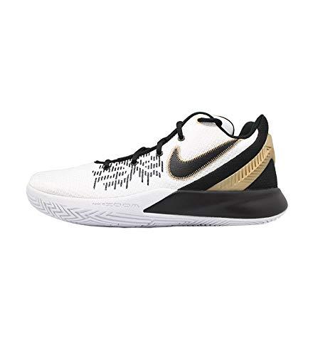 Nike Kyrie Flytrap II, Chaussures de Basketball Homme, Multicolore (White/Metallic Gold-Black 170), 48.5 EU