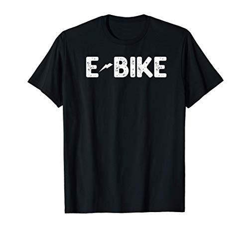 Bicicleta Eléctrica E-Bike Vintage Regalo Camiseta