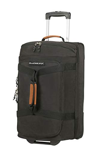 American Tourister Alltrail - Travel Duffle with Wheels S, 55 cm, 53 Litre, Black