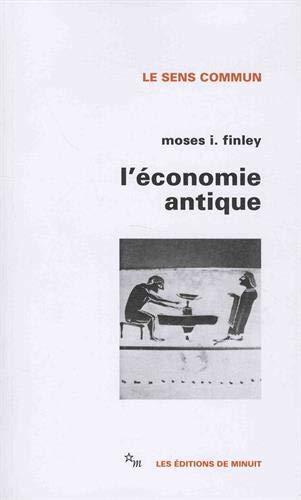 Economie antique (L')