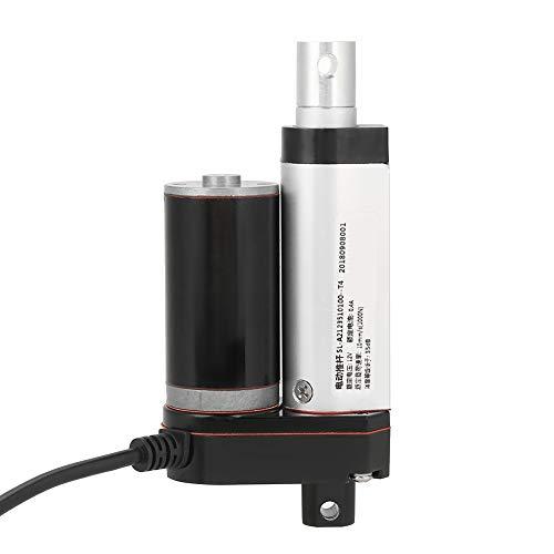 Actuador lineal eléctrico de fácil control, actuador lineal de 12 V duradero, bajo consumo de energía para el actuador
