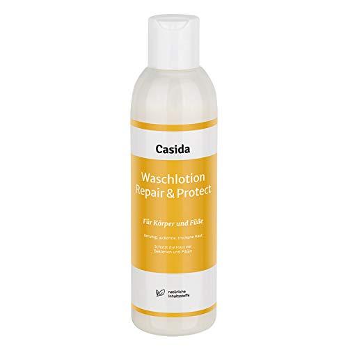 Waschlotion Repair & Protect für Körper und Füße - Anti-Pilz Waschlotion zum Schutz und zur Hygiene bei Hautpilz, Fußpilz und Nagelpilz - mit natürlichen Ölen - anti-bakteriell - 200 ml