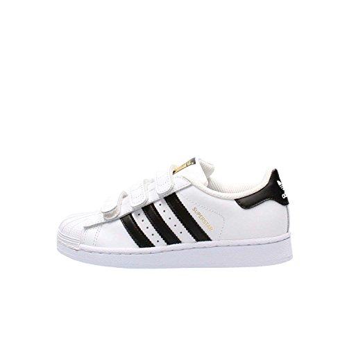 adidas Superstar Foundation CF C, Zapatillas Niños, Blanco (Footwear White/Core Black/Footwear White 0), 29 EU