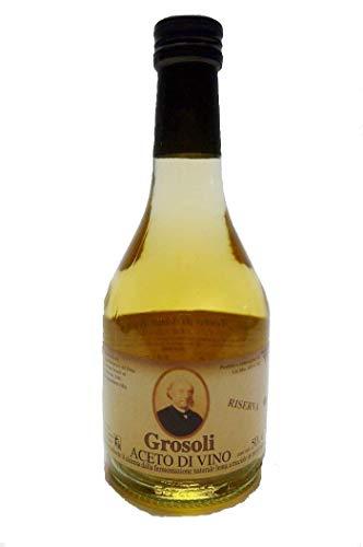 グロソリ イタリアン 白ワインビネガー 500ml