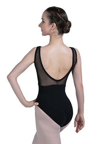 Details about  /Ballet Leotard Adult 2020 Black Comfortable Practice Dance Costume Women