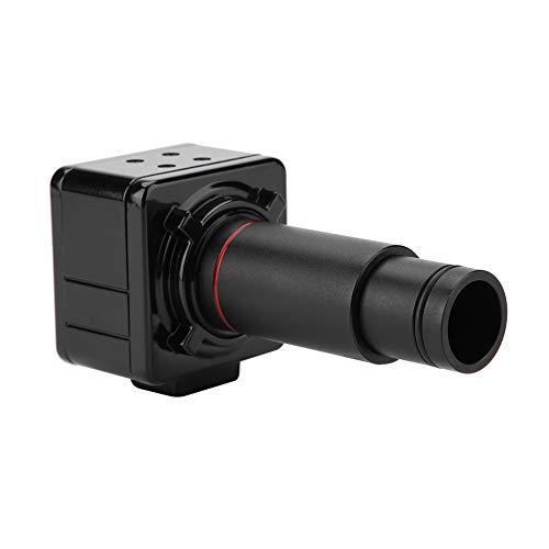 Cámara Industrial HD, Cámara de Microscopio Unidad Libre 5MP Cámara Industrial 0.5X Veces Adaptador de Interfaz ccd El Espejo Retráctil se Puede Fotografiar Cámara Digital para Microscopio
