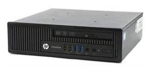 mini pc hp nuovo UltraSlim PC HP EliteDesk 800 G1 USDT 8Gb Ram 500Gb Windows 10 Professional con Licenza Nuova (Ricondizionato)
