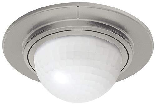 Steinel Einbau-Bewegungsmelder IS 360-1 inox, max. 1000 W Schaltleistung, 360° Sensor, max. 4 m Reichweite, LED geeignet