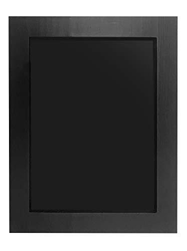 Chalkboard - Magnetic, Non-Porous - Vintage Decor - Chalk Board for Wedding, Kitchen, Bar, Restaurant, Menu & Home - Chalkboard Sign - Wall Mounted, Framed Chalkboard - Black (11' x 14')