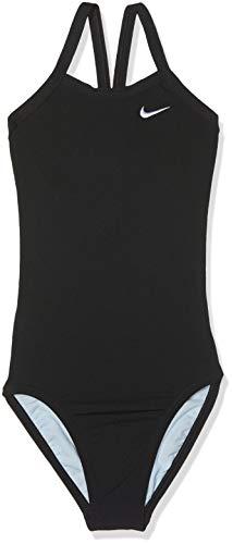 Nike Tfss0082-001 Competition Badeanzug, Mädchen M Schwarz