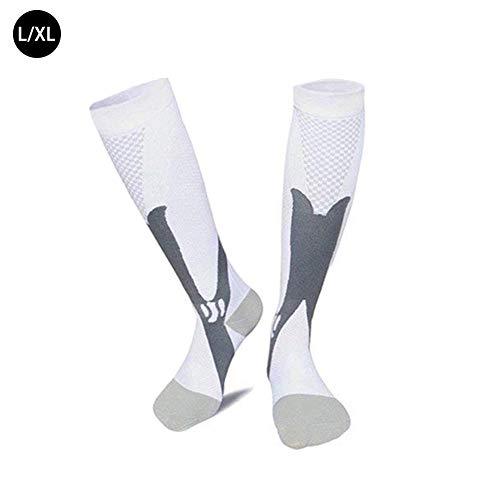 Pour les activités de plein air, chaussettes de compression sportives, bas élastiques, imperméables, coupe-vent et respirantes, chaussettes à usages multiples, à la randonnée pour hommes et femmes