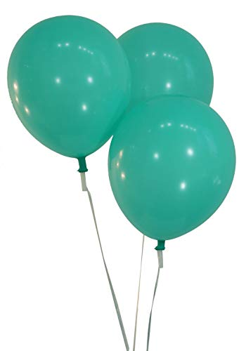 "Creative Balloons 12"" Latex Balloons - Pack of 144 Piece - Pastel Aqua"