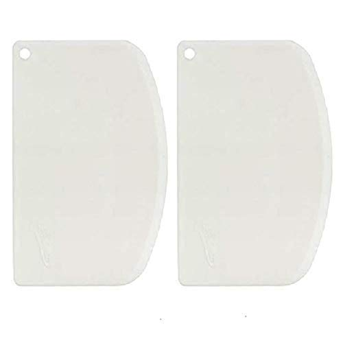 Ateco Scraper, Pack of 2, White