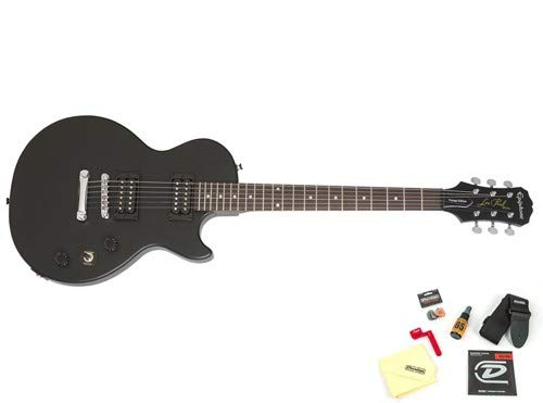 Epiphone Les Paul Special VE Electric Guitar Ebony with Accessories
