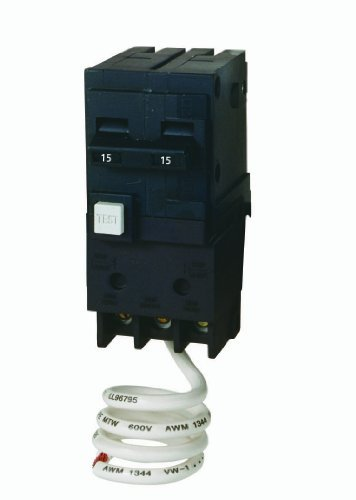 Murray MP215GF 15-Amp 2 Pole 240-Volt Ground Fault Circuit Interrupter by Murray