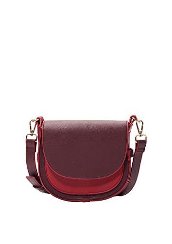 s.Oliver Damen 39.910.94.2066 Schultertasche Pink (Purple/Pink)