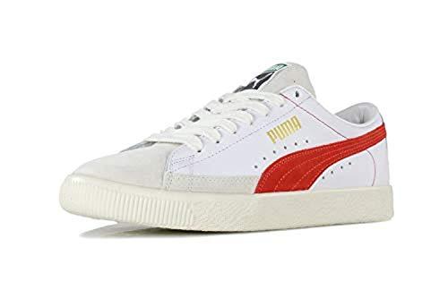 Puma Basket 90680 Zapatillas para Hombre Blanco, 39