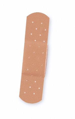 Medline NON25509Z Bandage, Adhesive, Plastic, Jr, 3/8' x 1.5', Lf (Pack of 100)