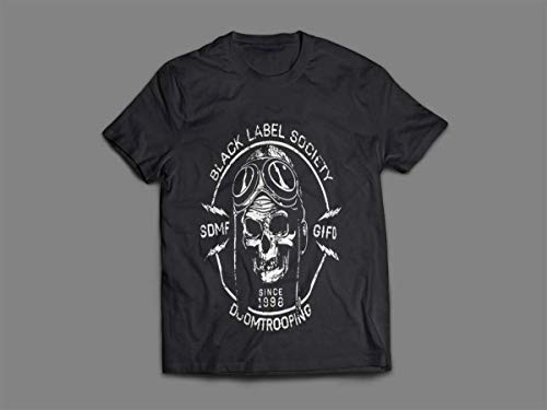 Camiseta/Camisa Masculina Black Label Society Metal Tamanho:M;Cor:Preto