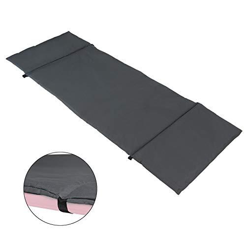 BB Sport universelle Feldbettauflage Maße 190 x 64 cm schützt wärmt und hält, mit Befestigungsbändern