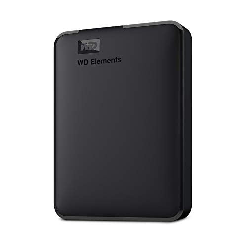 WD 4TB Elements Portable External Hard Drive, USB 3.0 - WDBU6Y0040BBK-WESN