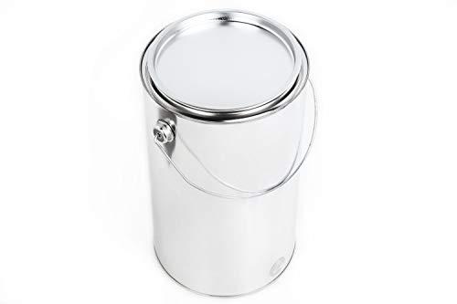 Blechdose mit Deckel Weißblech-dose Leerdose Lackdosen Metallbehälter Dosen Autolack Farbe, Anzahl:1, Größe:5 L