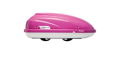 MODULA MOCS0065 Dachbox Travel Sport 370 Liter Rosa