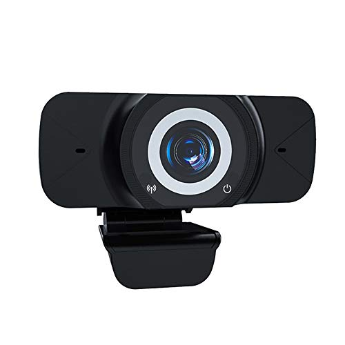 1080P USB Computer Webcam with Microphone, Live Streaming Web Camera PC Webcams for Laptop Desktop Video Calling, Conferencing
