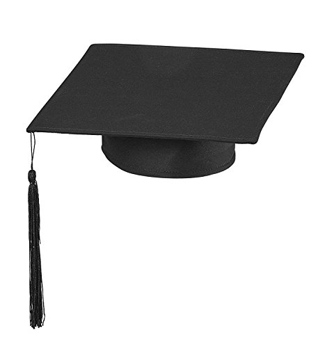 WIDMANN MILANO PARTY FASHION Cappello da Laureato Tocco Dottore Travestimento Laurea Diploma Accademia
