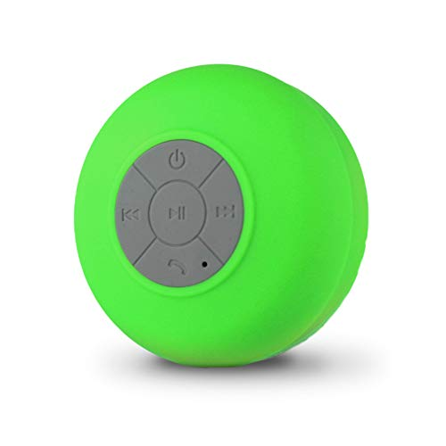 Portable Waterproof Shower Bluetooth Speaker with Suction Cup