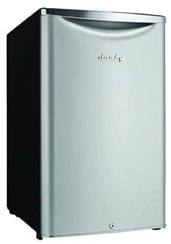 Danby DAR044A6DDB 4.4 cu.ft. Contemporary Classic Compact All Refrigerator, Iridium Silver Steel