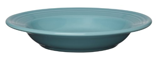 Fiesta 9-Inch, 13-1/4-Ounce Rim Soup Bowl, Turquoise
