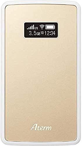 NECプラットフォームズ Aterm モバイルルーター MP02LN CW シャンパンゴールド PA-MP02LN-CW