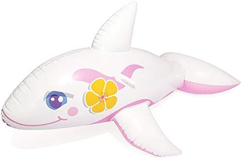 Bestway Schwimmtier Wal rosa Aufblastier pink Mädchen 157 cm