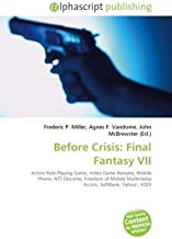 Best final fantasy before crisis Reviews