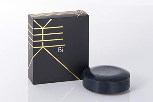 美(Bi)泡立てネット付き Net:100g 炭配合 枠練石鹸 マイルドスキンソープ